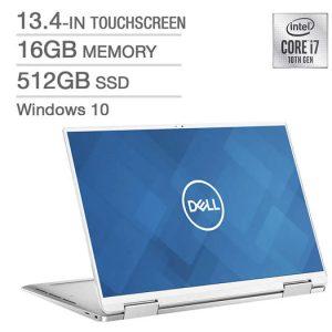 Dell XPS 13 XPS7390-7923SLV-PUS 2-in-1 Laptop, i7-1065G7